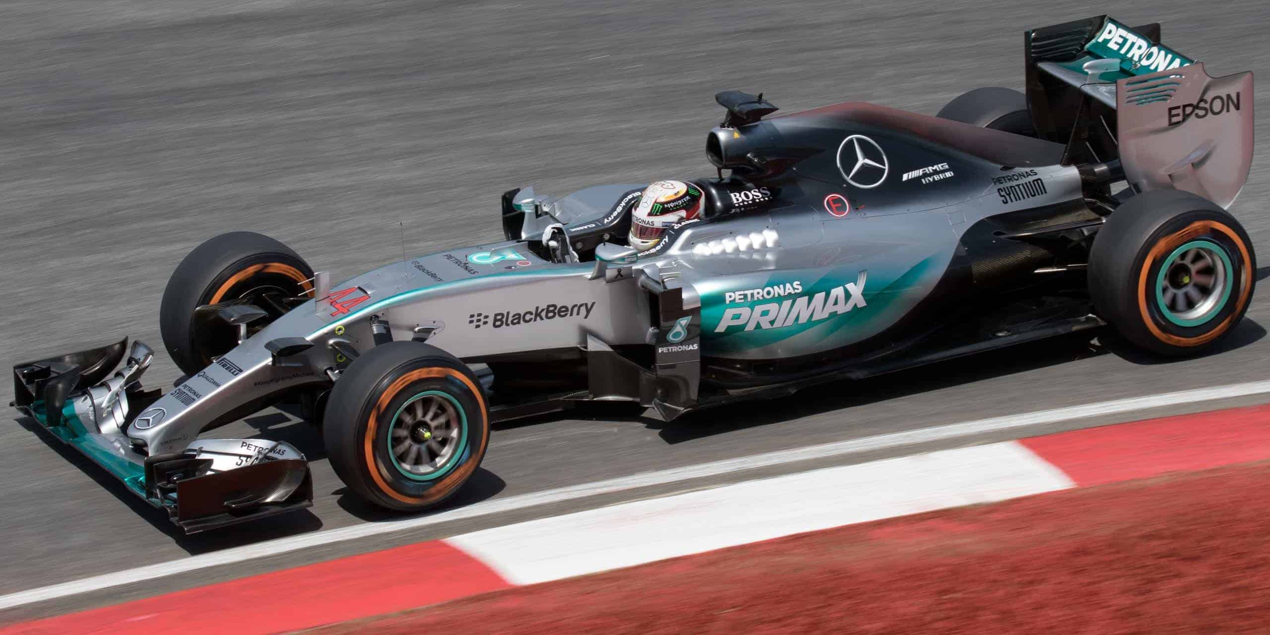 Mercedes expenditure leads the race in formula one adsit for Mercedes benz formula 1