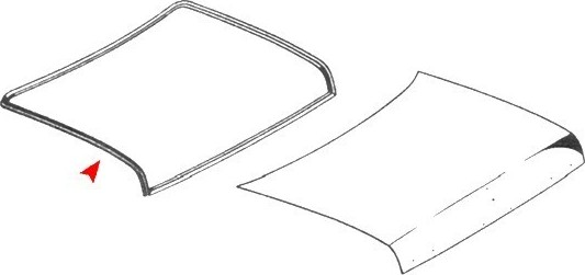 TRUNK LID SEAL