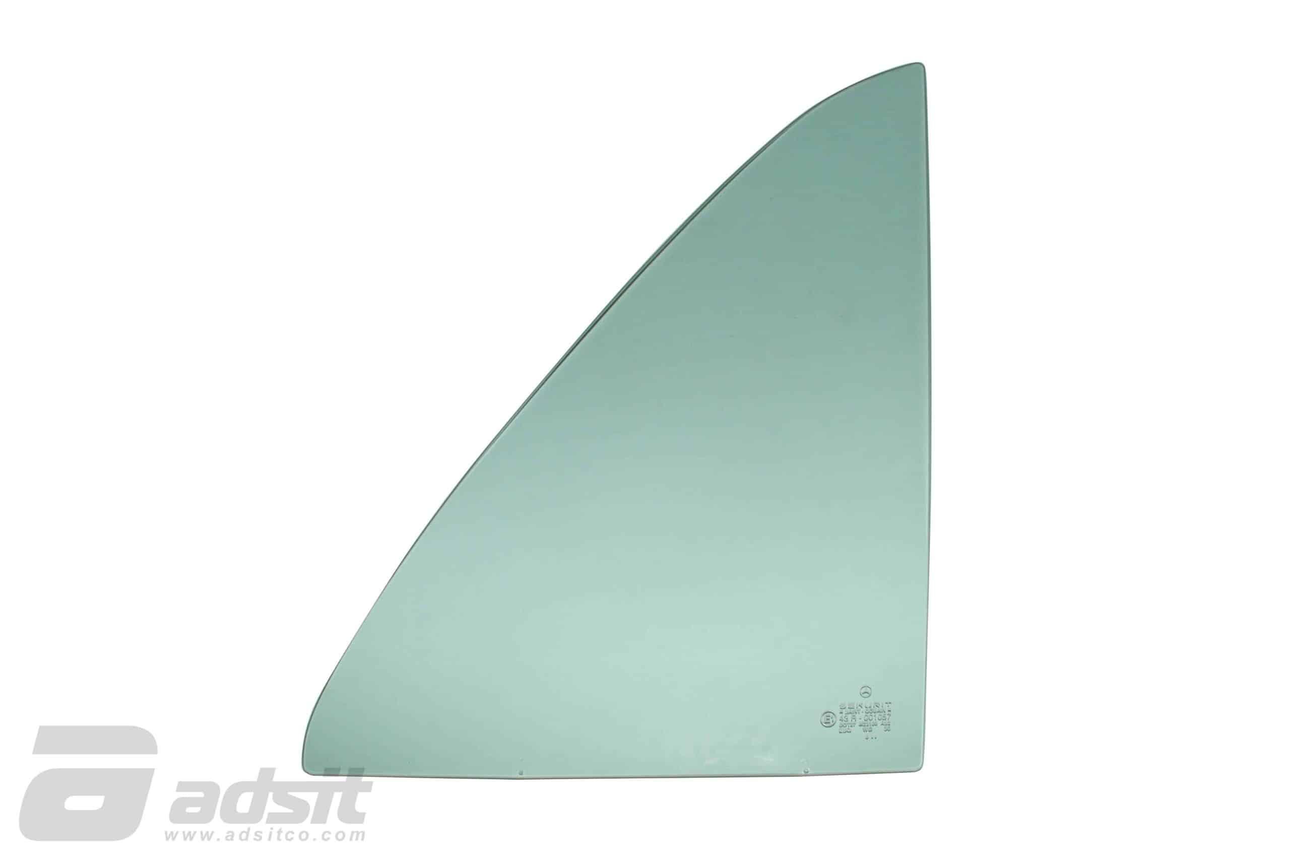 DOOR GLASS – 123 SEDAN REAR RIGHT (1/4) GLASS