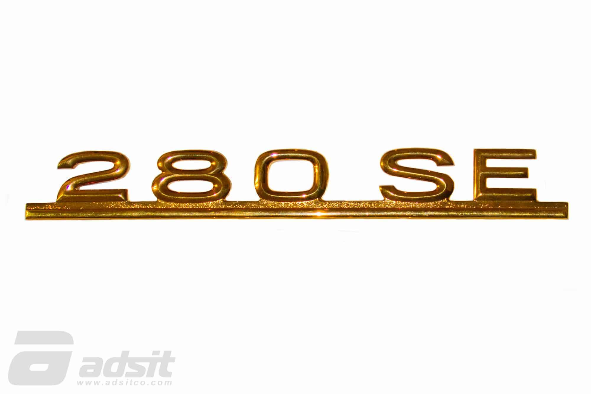280SE GOLD BADGE