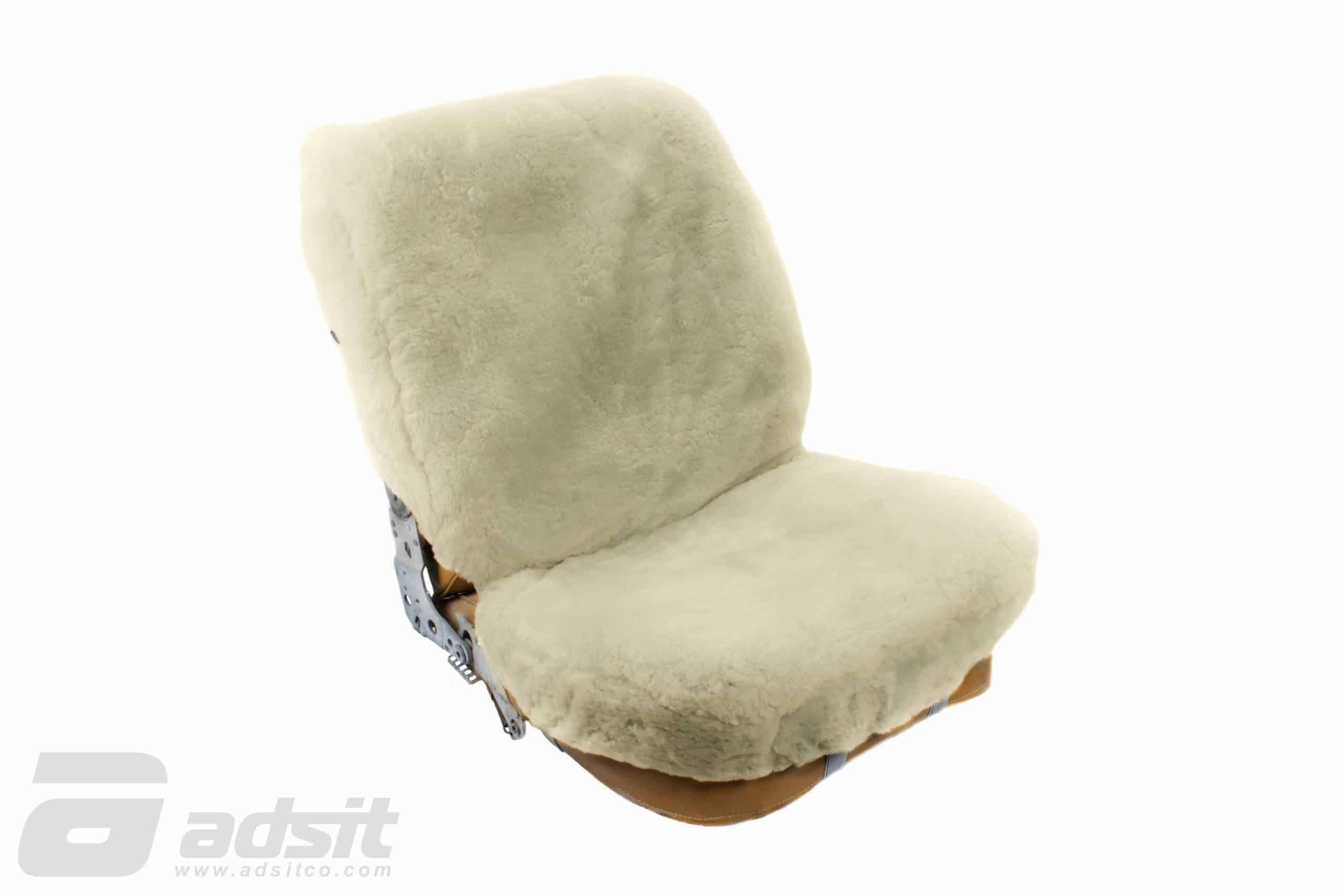 SHEEPSKIN SEAT COVERS – WHITE