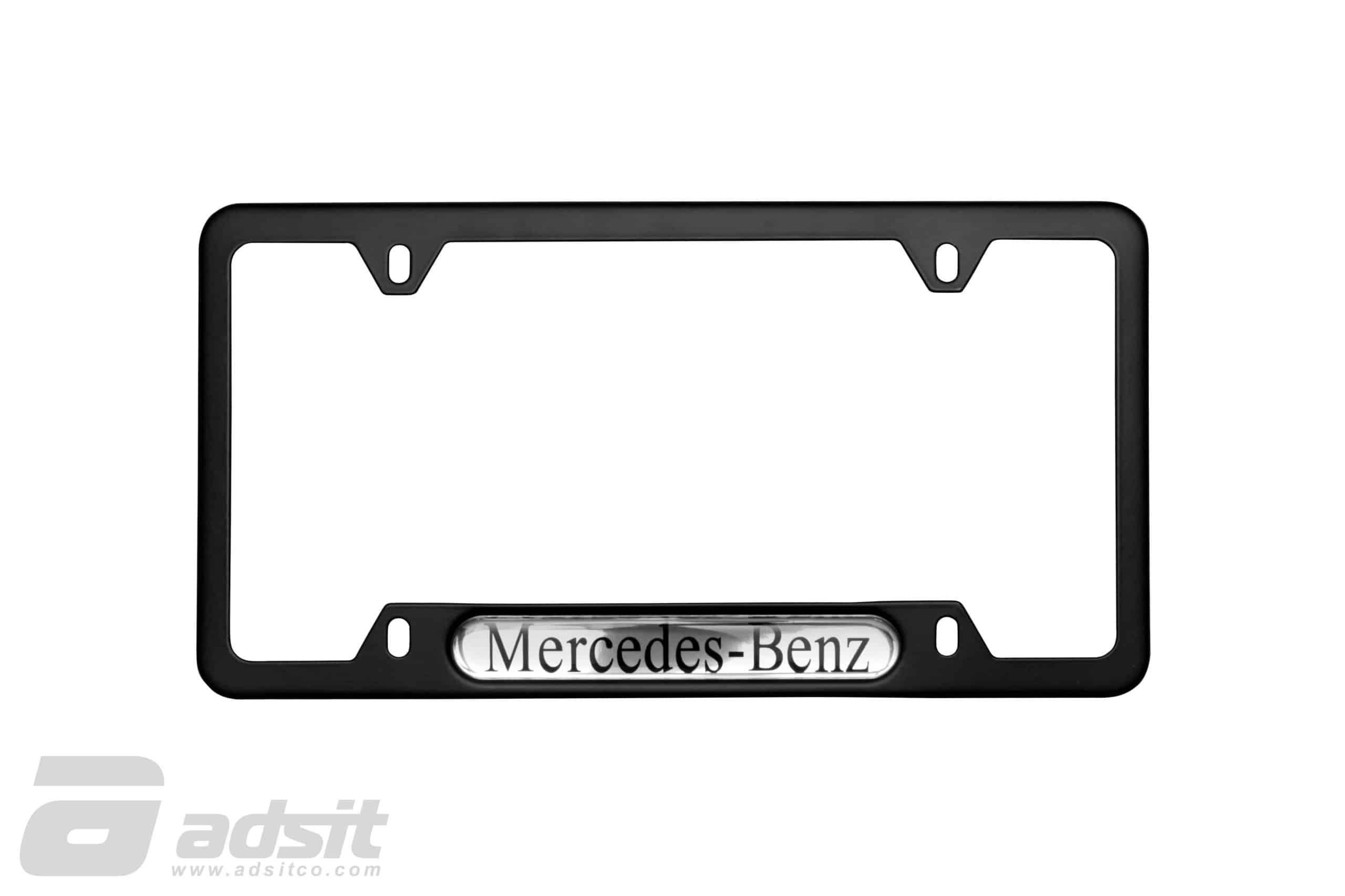 License Plate Surround – Black