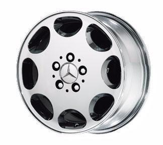 chrome wheels mercedes