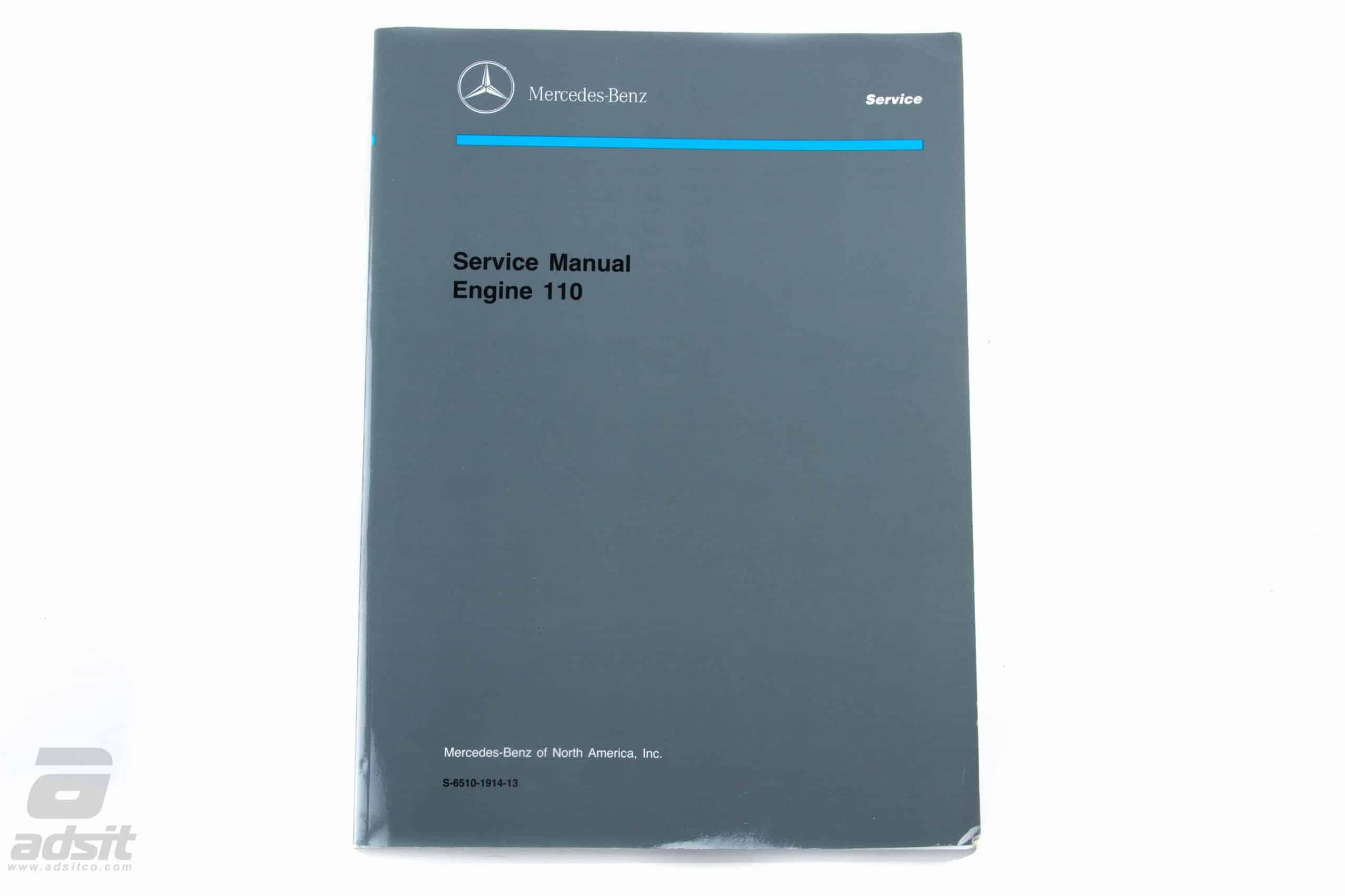 ORIGINAL FACTORY ENGINE MANUAL